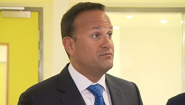 Leo Varadkar said the backstop was only a means to an end