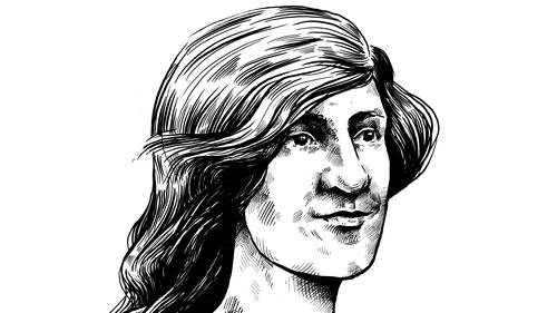 Herstory: Sarah 'Fanny' Durack - 1889-1956: Olympic swimmer and world-record holder. Illustration by Szabolcs Kariko.