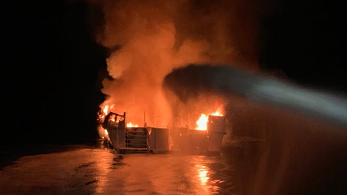 California boat fire: More bodies found off Santa Cruz Island