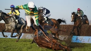 Movewiththetimes, seen falling here at Cheltenham previously, is the ante-post favourite