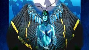 Herstory: Etain (Eadaoin) - Maiden of the Tuatha de Dannan. Art by Bill Felton for Bard Mythologies.