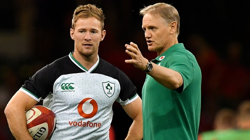 Ireland coach praises cut trio for remaining with squad