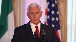US Vice President Mike Pence was criticised for staying in the Trump Doonbeg hotel during his visit