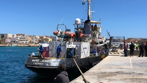 The Mare Jonio has been seized at Lampedusa