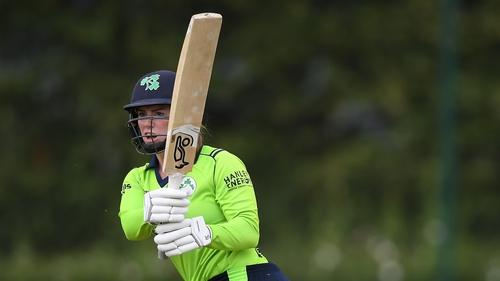 Lara Maritz was stumped as Ireland were beaten