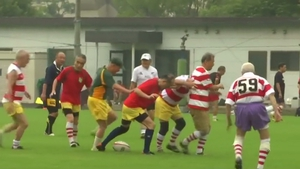 Rugby keeps the players active and offers a ready-made social life