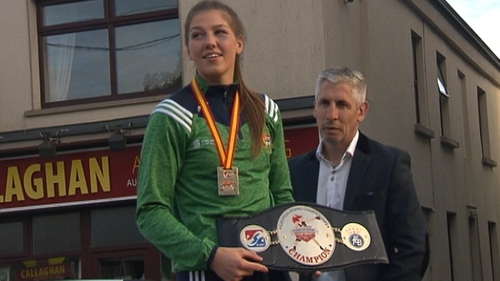 Aoife O'Rourke hopes to qualify for the 2020 Olympic games in Tokyo