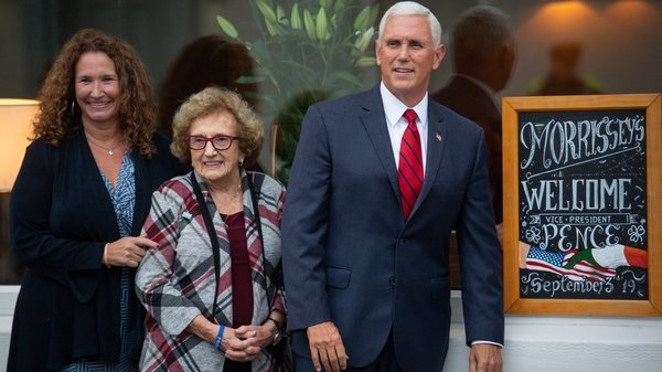 Mike Pence is a regular visitor to Doonbeg in Co Clare