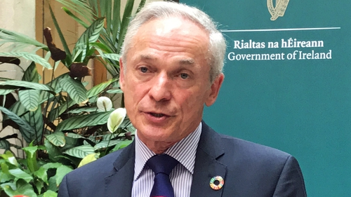 Richard Bruton says Ireland is implementing Climate Action Plan