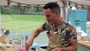 David played it slow and steady in the Bake Off tent
