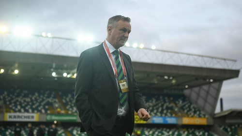 Michael O'Neill's side suffered their first loss of the group against Germany last month