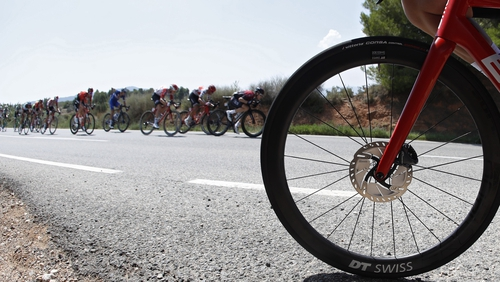 The Vuelta is one of the three major European professional cycling stage races