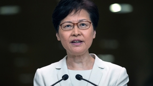 Carrie Lam said China supports her decision to withdraw an extradition bill