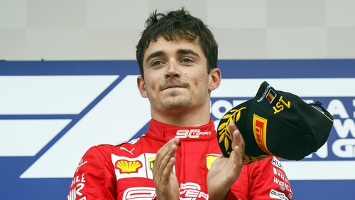 Leclerc won his first Grand Prix at the weekend