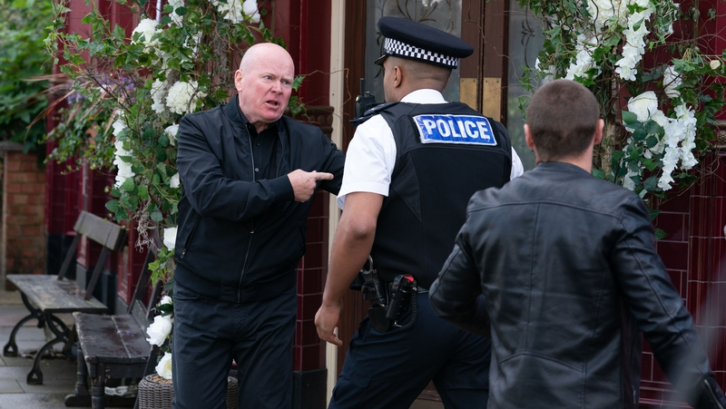 Shot fired in EastEnders with fans kept in suspense