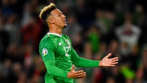 Callum Robinson qualified to play for Ireland through his Monaghan-born grandmother