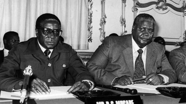 Image result for robert mugabe  black and white