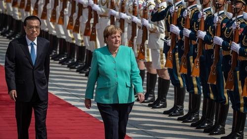 Merkel speaks up for Hong Kong in Beijing