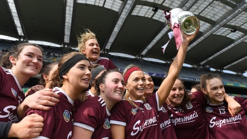 Sarah Dervan lifted the cup last summer