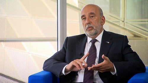 Gabriel Makhlouf took up his job this week as Ireland's new Central Bank Governor