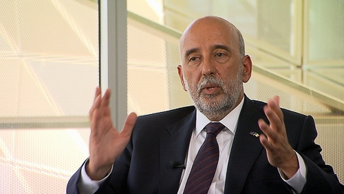 Central Bank Governor Gabriel Makhlouf said the impact of the Covid-19 pandemic will continue to be felt throughout society for some time