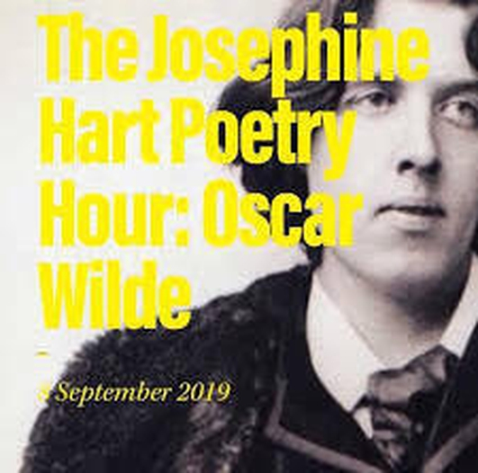"""""""The Josephine Hart Poetry Hour: Oscar Wilde"""" at the Abbey Theatre"""