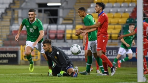 Troy Parrott scored the only goal of the game at Tallaght Stadium