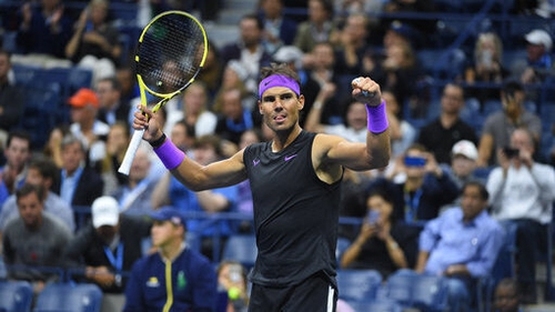 Rafael Nadal has the chance to win his 19th Grand Slam on Sunday