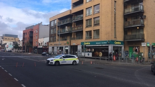 The man has been taken to St James's Hospital with serious injuries