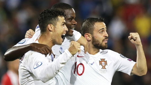 Portugal had failed to win in their opening two games