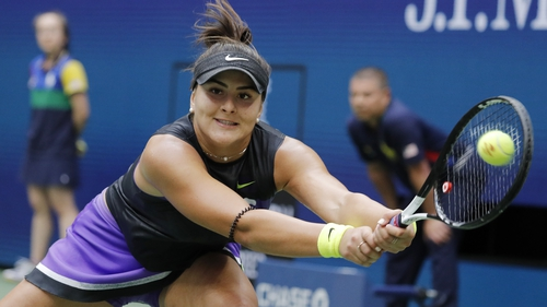 Bianca Andreescu had never been beyond the the second round of a grand slam before arriving in New York two weeks ago