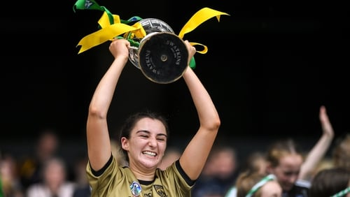 Kerry captain Niamh Leen led her team to victory in Croke Park