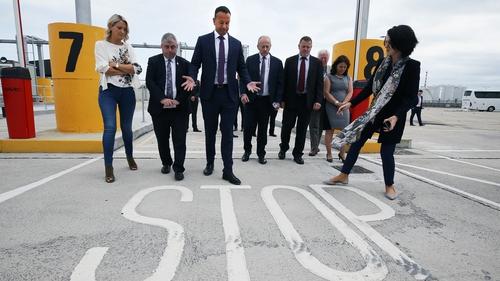 SF accuse Taoiseach of 'conceding' over border checks