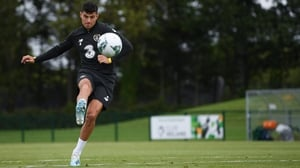 """John Egan: """"You're playing against top teams every week, so you're being asked different questions and coming up against the best strikers."""""""