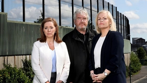 BBC reporters Jennifer O'Leary Darragh MacIntyre and Mandy McAuley