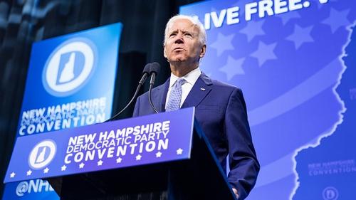 Biden leads Democratic field, Trump with new challenger