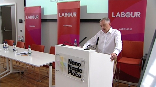 The Labour parliamentary party is meeting in Cork City ahead of the resumption of the Dáil next week