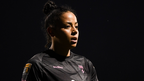Rianna Jarrett was on target for Wexford Youths
