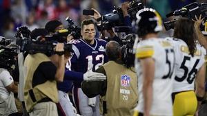 Tom Brady was at it again