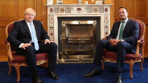 Boris Johnson and Leo Varadkar spoke by phone this evening