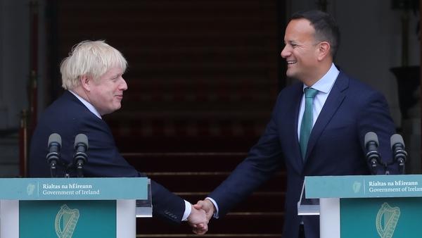 "Boris Johnson and Leo Varadkar had ""positive and constructive"" talks but ""significant gaps remain"""