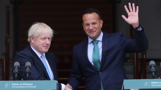 No backstop is same as no deal for Ireland, Taoiseach tells Johnson