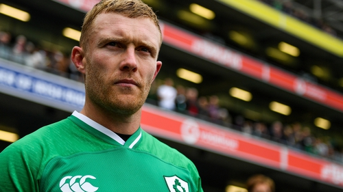Keith Earls is among the Irish players in Japan with injury concerns