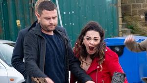 Aaron burns Mandy's money leaving her fuming