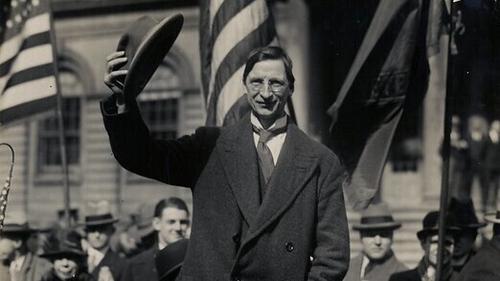 Éamon De Valera on tour in America in 1919