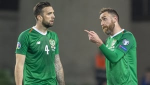 Richard Keogh and Shane Duffy
