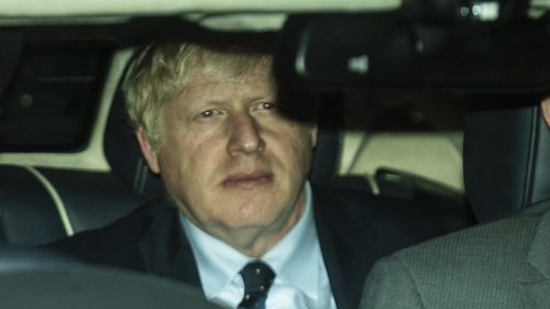 Boris Johnson suffered his sixth parliamentary defeat in as many sitting days
