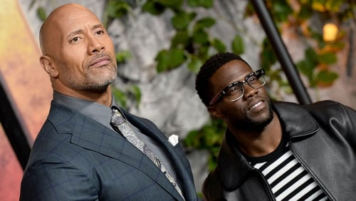 "Dwayne Johnson said Kevin Hart is ""a lucky man, and he knows it too"""