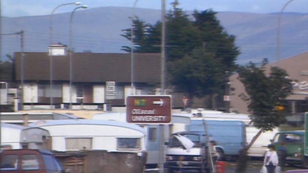 Halting site in Limerick city (1989)