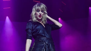 Taylor Swift celebrates the release of her new album with intimate gig in Paris ©Dave J. Hogan/Getty